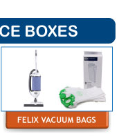 SEBO Felix Replacement Vacuum Cleaner Dust Bags