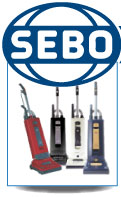 SEBO Replacement Vacuum Bags and Service Boxes