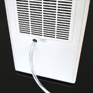 Dual Drain Option - Albert 72 Pint Dehumidifier