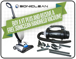 Soniclean VT Plus Upright Vacuum Cleaner
