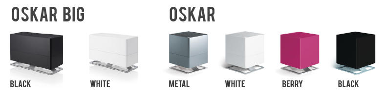 Oskar Home Humidifier Color Options