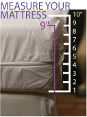 How to Measure Your Allergy Armor Ultra Dust Mite Mattress Covers