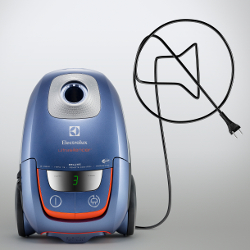 The Exceptionally Quiet UltraSilencer Vacuum by Electrolux