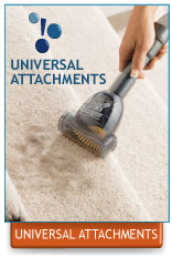 Universal Vacuum Attachments