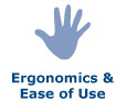 Vacuum Cleaners Ergonomics & Ease of Use
