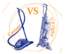Upright Vacuum Cleaners vs. Canister Vacuum Cleaners