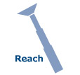 Reach & Cleaning Radius