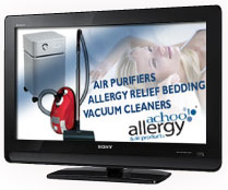Win this Sony flat screen TV from achooallergy.com