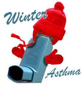 How cold weather can trigger asthma