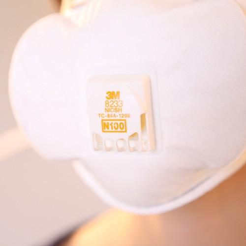 3m 8233 Mask Niosh N100 Hepa Mask Achooallergy