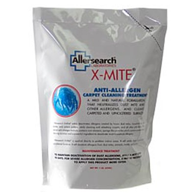 Allersearch X Mite Powder Dust Mite Carpet Powder