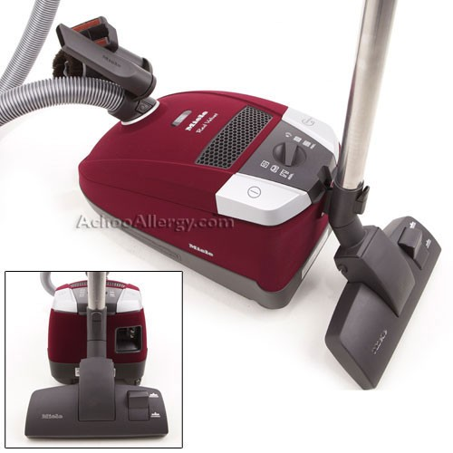 Miele S6270 Red Velvet Canister Vacuum Cleaner Free 2nd