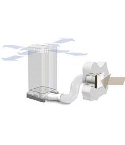 IQAir W125 Inflow Wall Ducting Kit