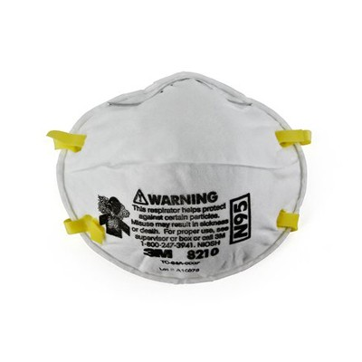 3M 8210 Dust and Pollen Mask