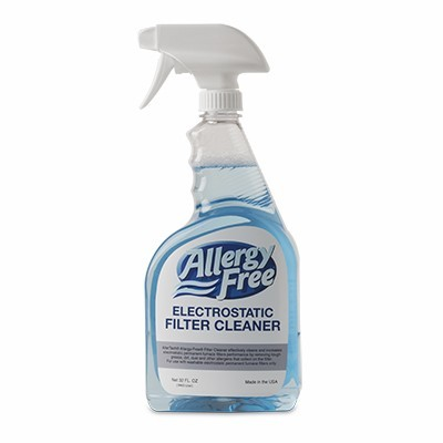 Allergy-Free® Electrostatic Filter Cleaner