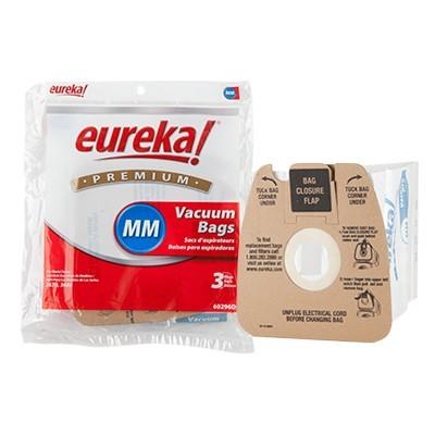 eureka premium 60296d 6 mm vacuum bags 3 pk