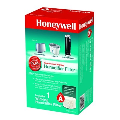 Crane Drop Cool Mist Humidifier Honeywell HAC-504AW Replacement Humidifier -Filter A ...