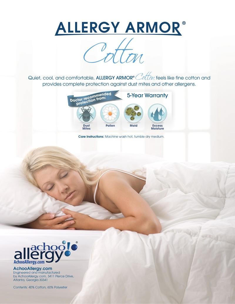 Allergy Armor Cotton Duvet Covers