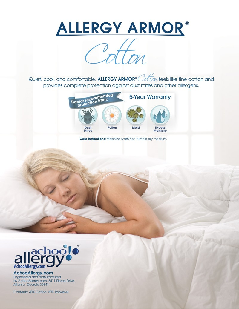 Allergy Armor Cotton Mattress Covers
