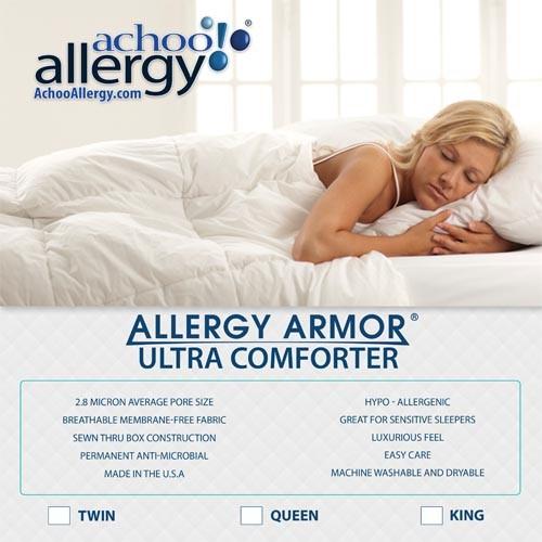 Allergy Armor Ultra Comforters