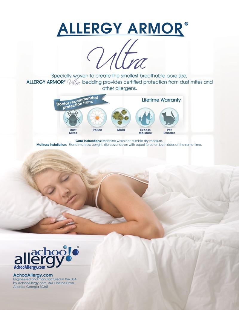 Allergy Armor Ultra Duvet Covers