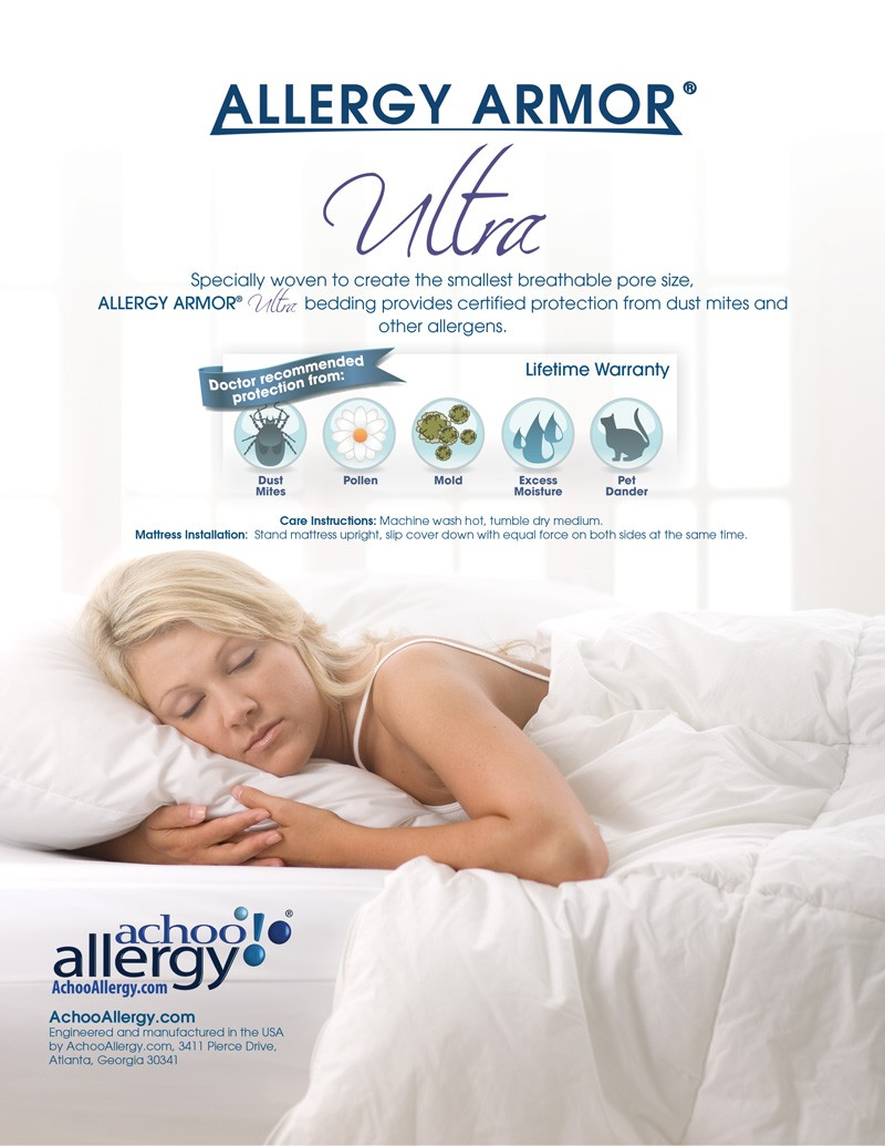 Allergy Armor Ultra Travel Pillow Covers- ON SALE!