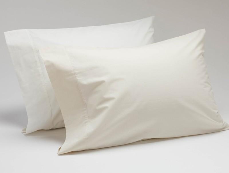 Coyuchi Sateen Pillow Case Set - King Ivory