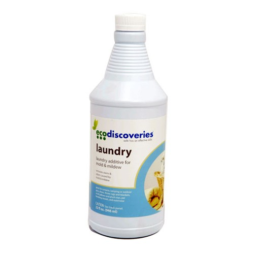 EcoDiscoveries Laundry for Mold and Mildew - 32 oz. bottle