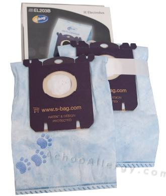 Electrolux EL203B S-Bag Anti-Odor Vacuum Bags