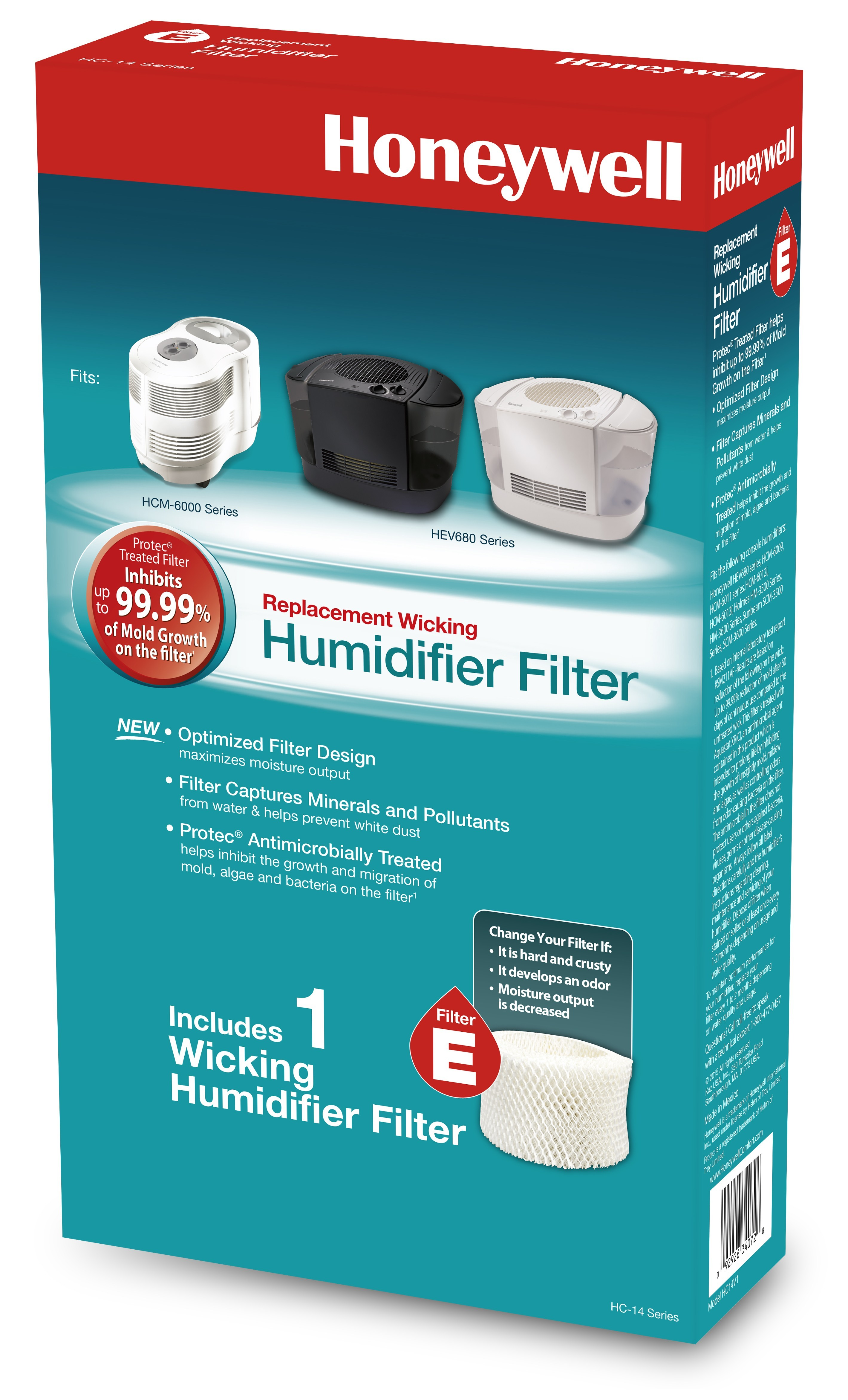 Honeywell HC-14N Replacement Humidifier Wicking Filter E