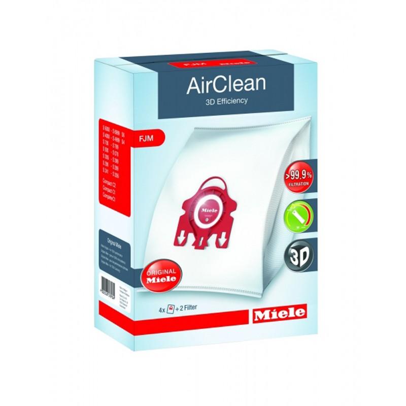 Miele 3D AirClean FJM FilterBags - 1 Box