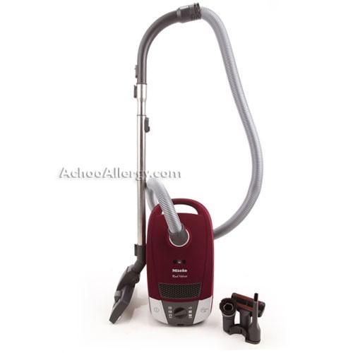 Miele S6270 Red Velvet Canister Vacuum Cleaner