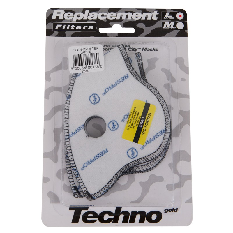Respro Techno Mask Filter - Large