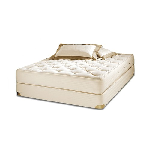 Royal-Pedic Natural Organic Cotton Mattresses with Wool Wrap