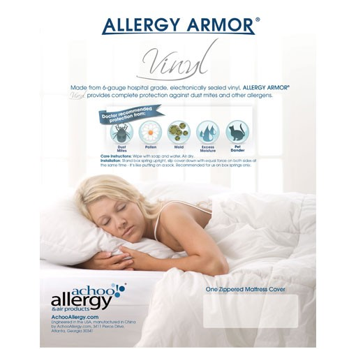 Allergy Armor Vinyl - CA Long Twin (2 Pack)