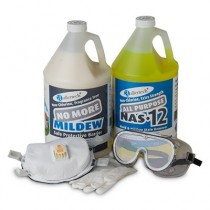 AllerTech® Mold & Mildew Clean-Up Kit with Gloves