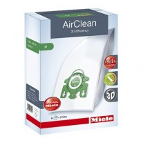 Miele 3D AirClean U Dust Bags for Upright Vacuums - 1 Box