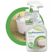 EcoDiscoveries Tub & Tile 2 oz. Refill w/Empty 32 oz. Bottle