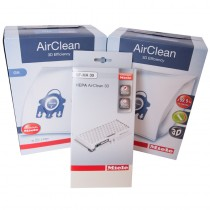 Miele C1 Vacuum Annual Filter/Bag Kit - HEPA