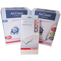 Miele C1 Vacuum Annual Filter/Bag Kit - HEPA