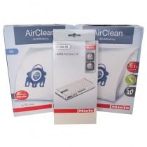 Miele C3 Vacuum Annual Filter/Bag Kit - HEPA