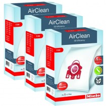 Miele 3D AirClean FJM FilterBags - 3 Box Case