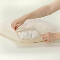 BedCare™ Organic All-Cotton Allergy Pillow Covers