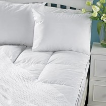 Pacific Coast Luxe Loft Feather Bed Mattress Topper