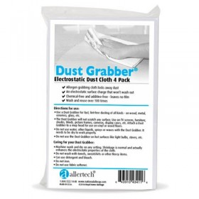 AllerTech® Dust Grabber® Electrostatic Dusting Cloth - 4 Pack