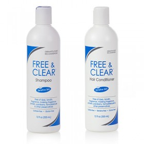 Free & Clear Shampoo and Conditioner Set